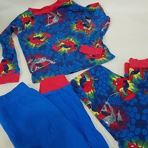 Marvel Matching Sets - Spiderman Pajamas set 6 PJS